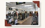 Senior Center Interior, Fitness Center